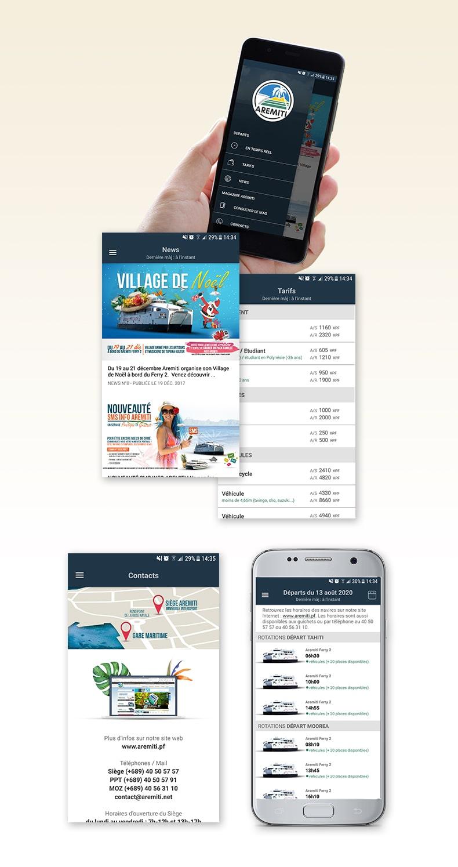 Aremiti-appli mobile